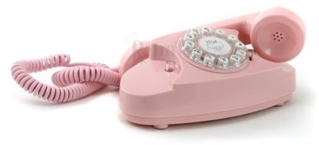Princess Pink Retro Phone