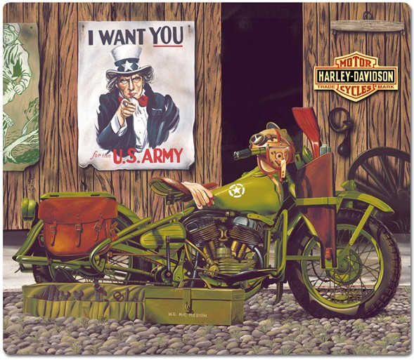 Harley ® Freedom Riders Tin Sign