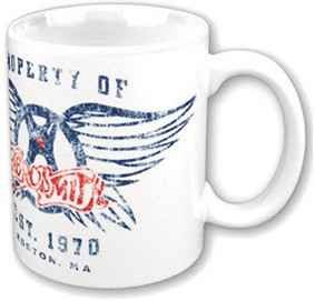 Aerosmith Retro Coffee Mug