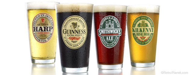 Irish Beer Glasses