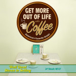 Get More Coffee Decal