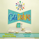 Cold Drinks Service Wall Decal