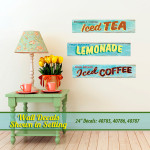 Fresh Beverages Wall Decals