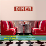 1950s Diner Wall Decal