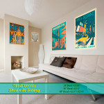 New York Cityscapes Wall Decals