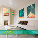 Chicago City Modern Wall Art Decals