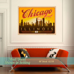 Chi-Town Wall Decal