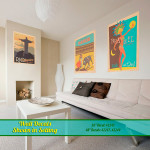 Spain & Brazil Travel Wall Decals