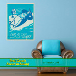 Penguin Chill Spot Wall Decal