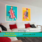 Mod Fashion Large Wall Decals in Setting