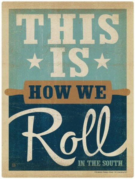 This is How We Roll Southern Wall Decal