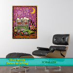 Louisiana Fun on the Bayou Retro Wall Decal