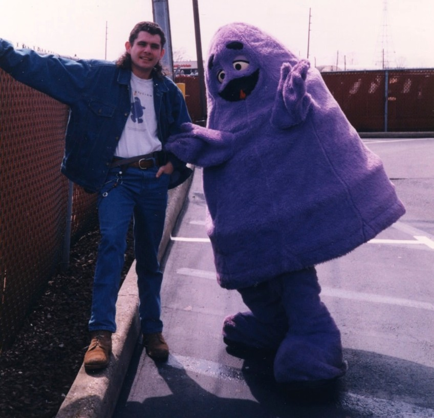 Joe and Grimace 1992