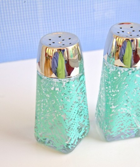 Scribbled Salt & Pepper Shakers