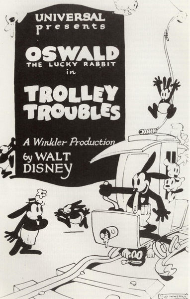 Trolley Troubles Poster