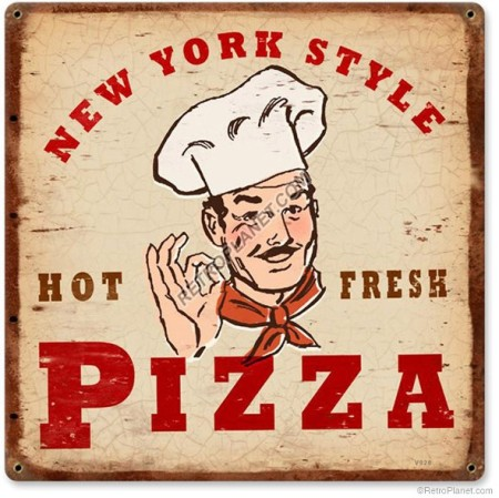 New York Style Pizza Sign