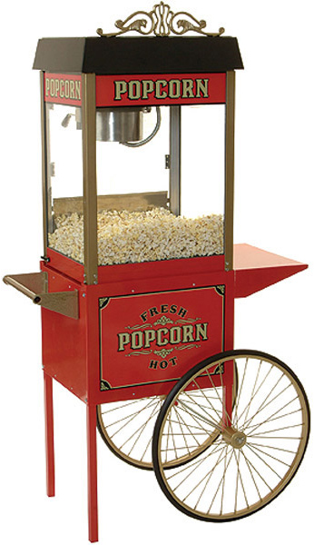 Popcorn Machine - Street Vendor Style