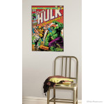 Hulk and Wolverine Cover Wall Decal