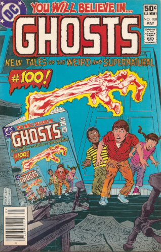 Cover to GHOSTS (DC Comics)