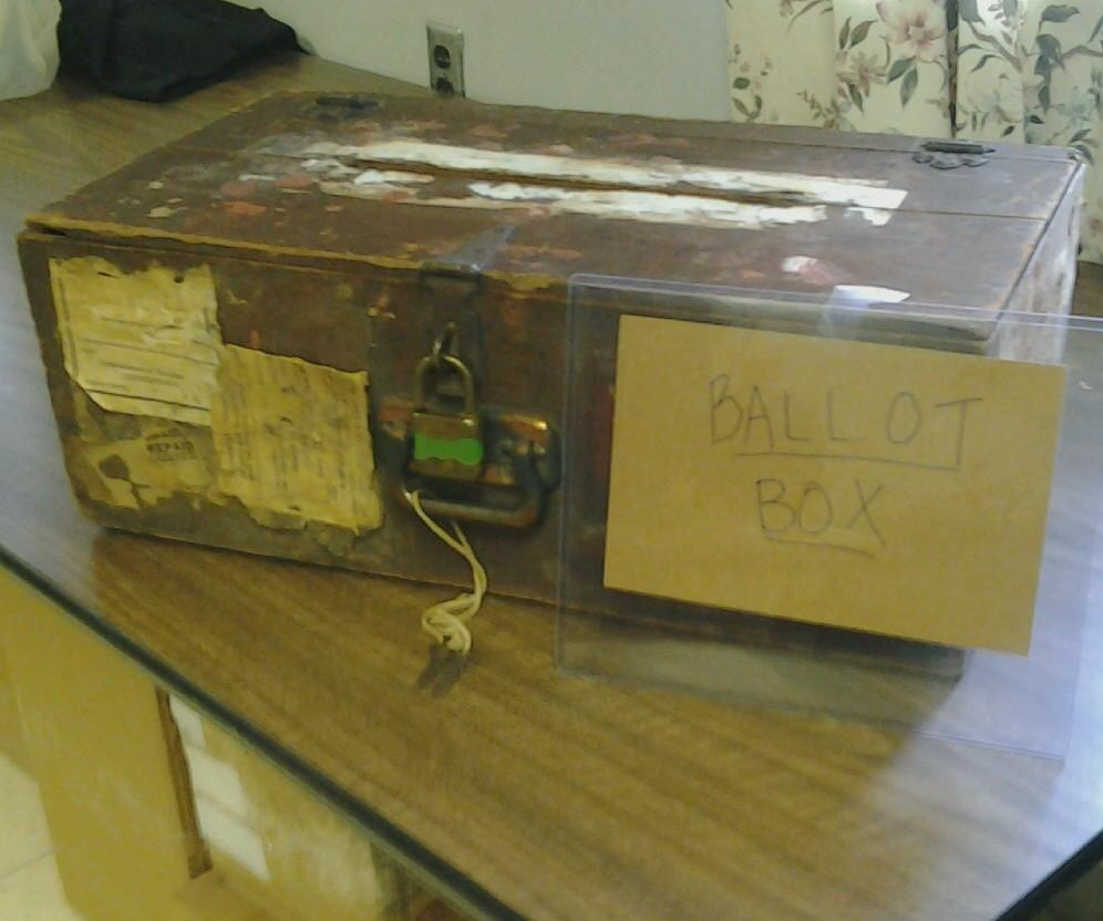 Old Ballot Box