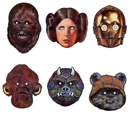 Star Wars DIY Halloween Masks