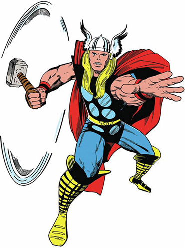 Classic Thor Giant Wall Decal