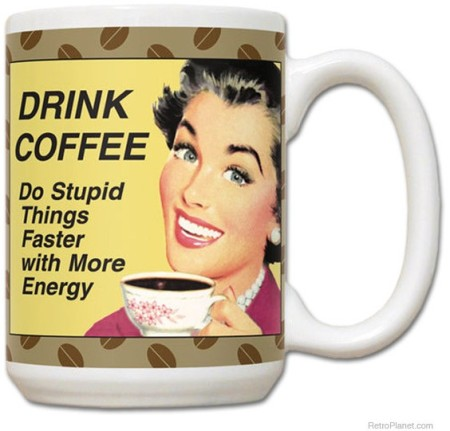 Retro Novelty Coffee Mugs