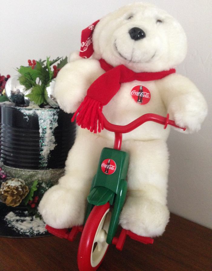 Coca-Cola Polar Bear Tricycle