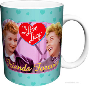 I Love Lucy Friends Forever Coffee Mug