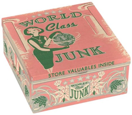 World Class Junk Petite Cigar Box