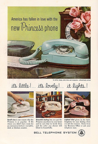 Early Ad for the Princess Telephone