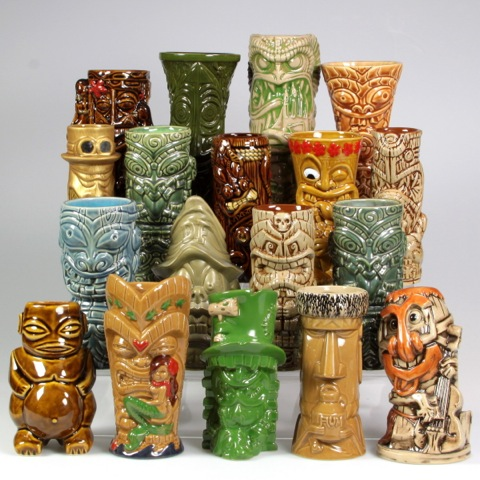 Limited Edition Tiki Mug Set