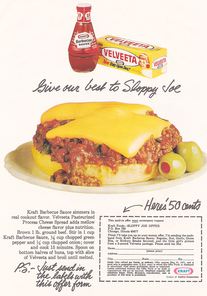 Early 1970s Velveeta Ad