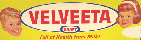 1950s Velveeta Packaging