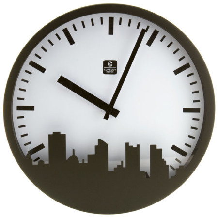 Urban Industrial Wall Clock