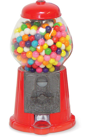 Vintage Style Gumball Machine