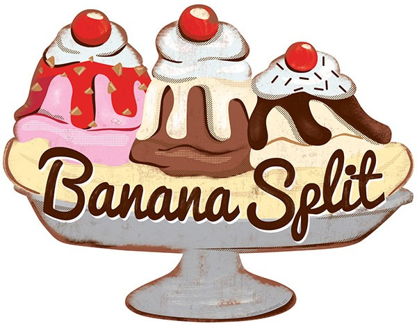 Banana Split Wall Decor