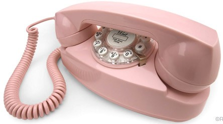 Pink Princess Telephone Replica
