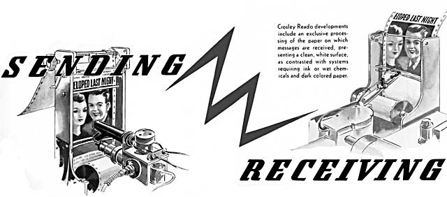 Crosley Reado Flyer Explaining the Process