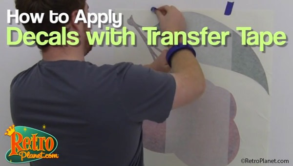 How To videos include installing with transfer tape