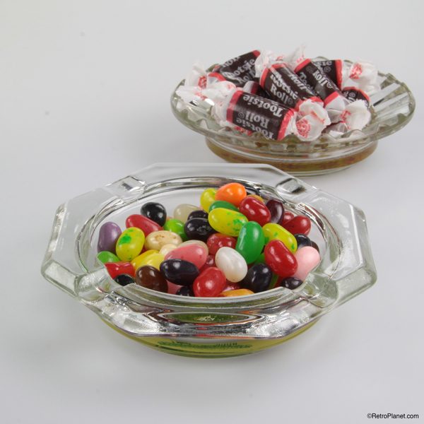 Ashtrays as Candy Dishes