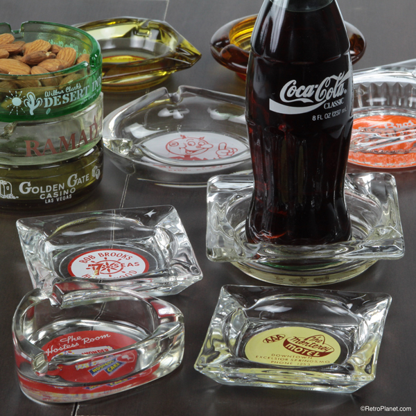 Decorative Coasters from Old Ashtrays
