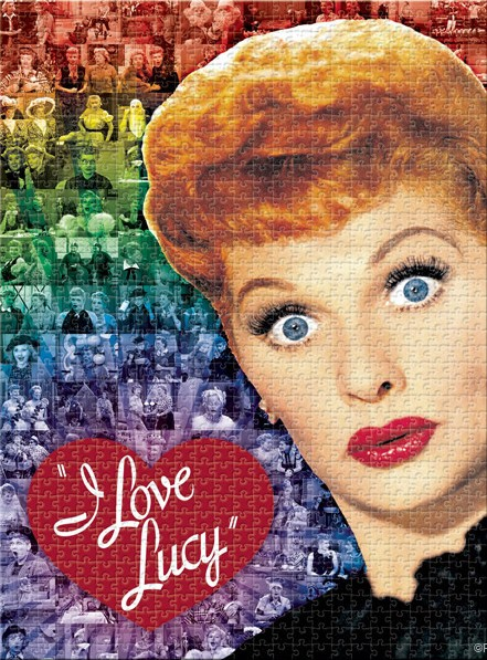 I Love Lucy Puzzle