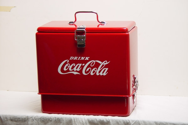 Image of Restored Coca-Cola Cooler