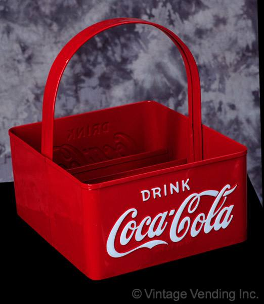 Image of Coca-Cola 1950s Square Stadium Carrier