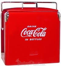 Image of 1950s Coca-Cola Acton Standard Cooler