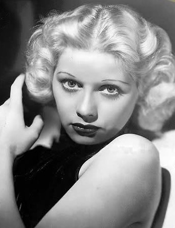 Lucille Ball as model Diane Belmont (1933)