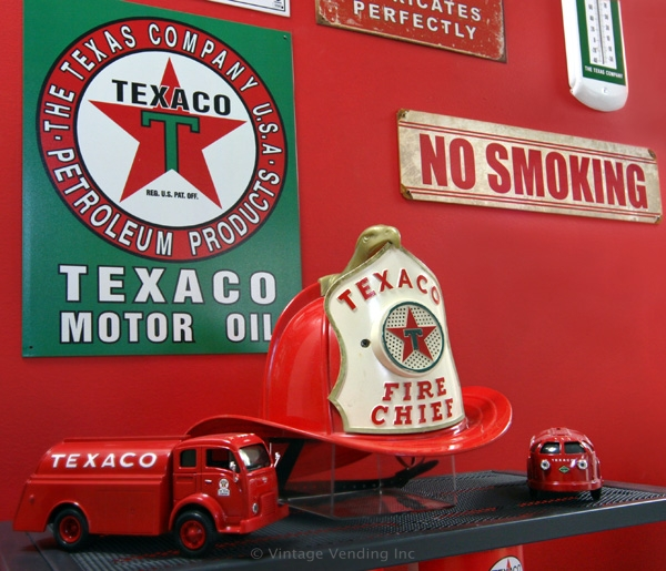 Closeup of Fire Chief memorabilia