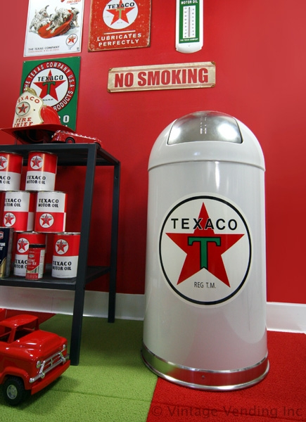 Texaco trash can - no longer available