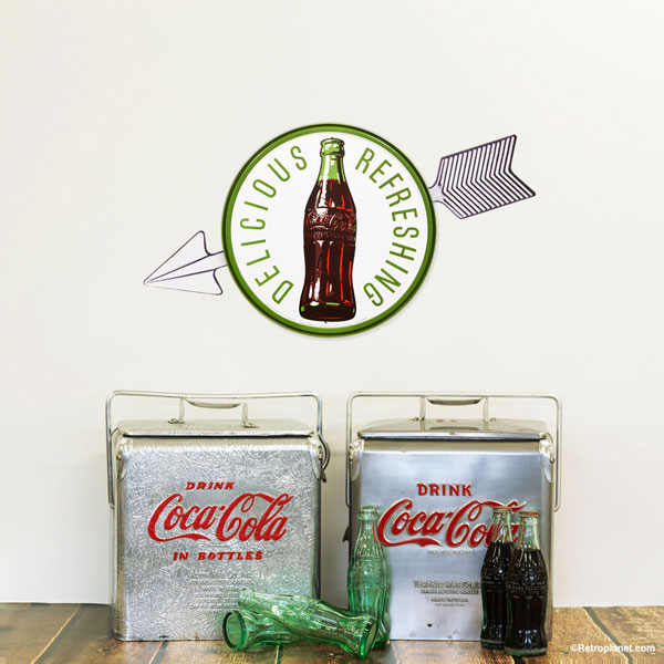 1960s Coke sign and coolers
